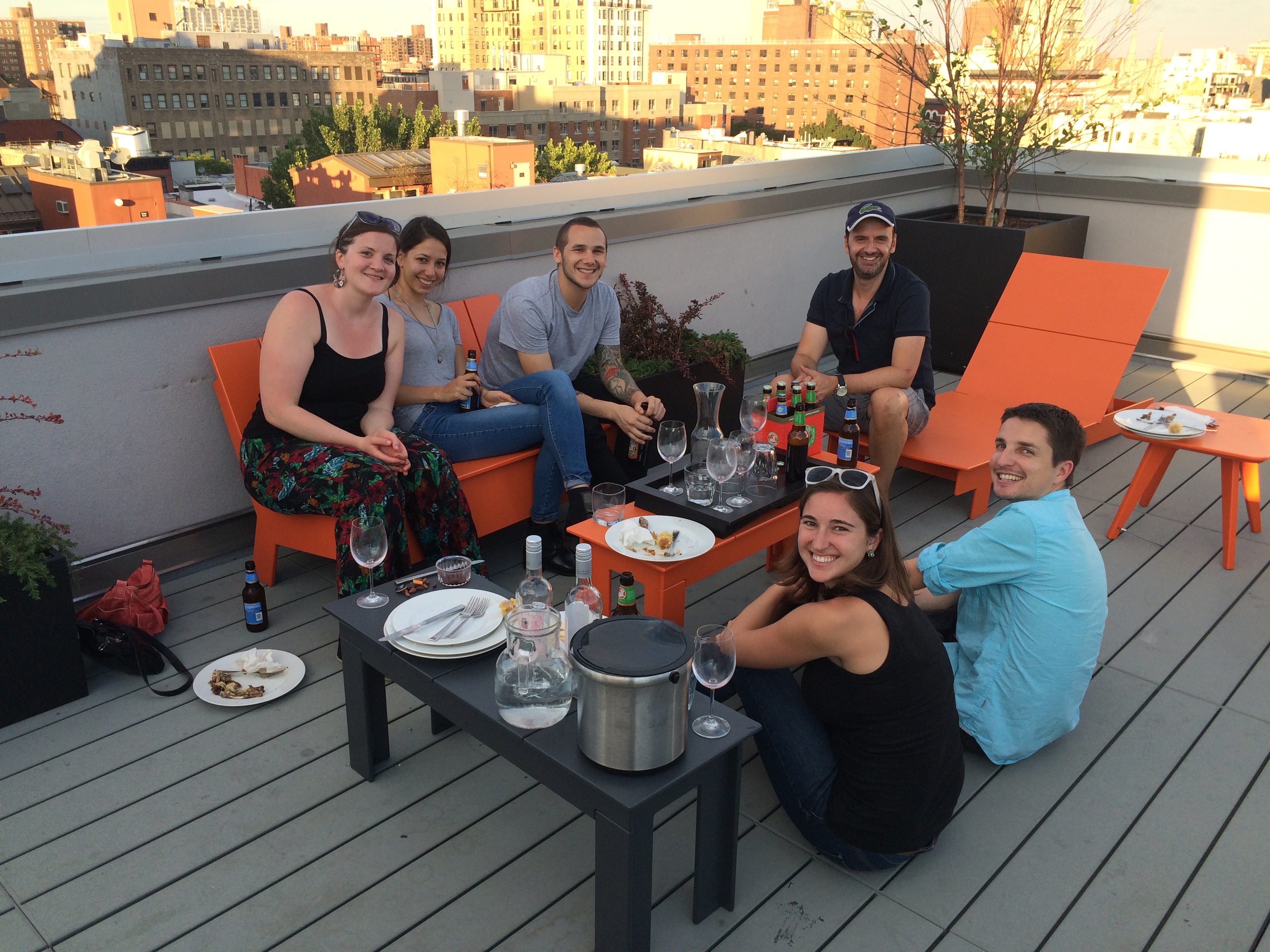 Housewarming party, Summer 2015